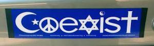 Bumper Sticker Coexist